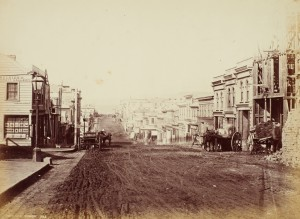 Dunedin_1863_PrincesStreet