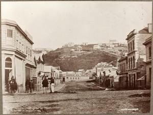 Rattray Street, Dunedin; 1864