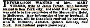 The Argus, 15 Oct 1866.